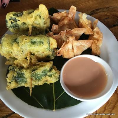 appetizer at Dageeli Tribe House Restaurant in Hualien, Taiwan