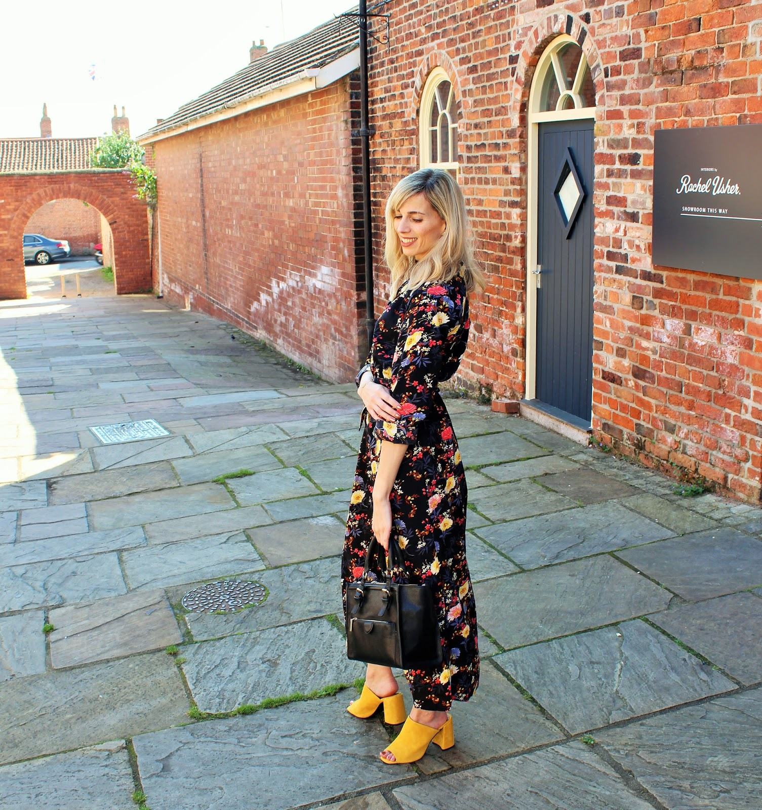 Bloggers X Boohoo Dress of the Month OOTD 2