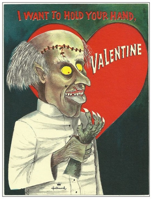 The Spooky Vegan Spooky Valentine S Day Cards