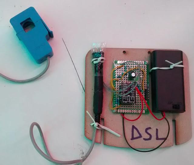 Lantau kilowatt counter: Repairing an induction hob