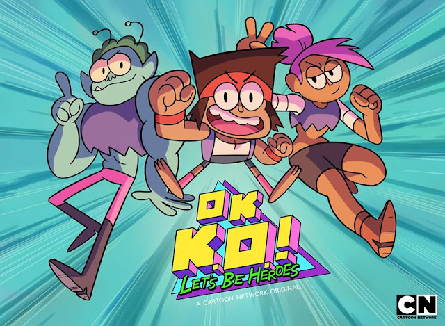 OK K.O.! Let's Be Heroes! On Cartoon Network