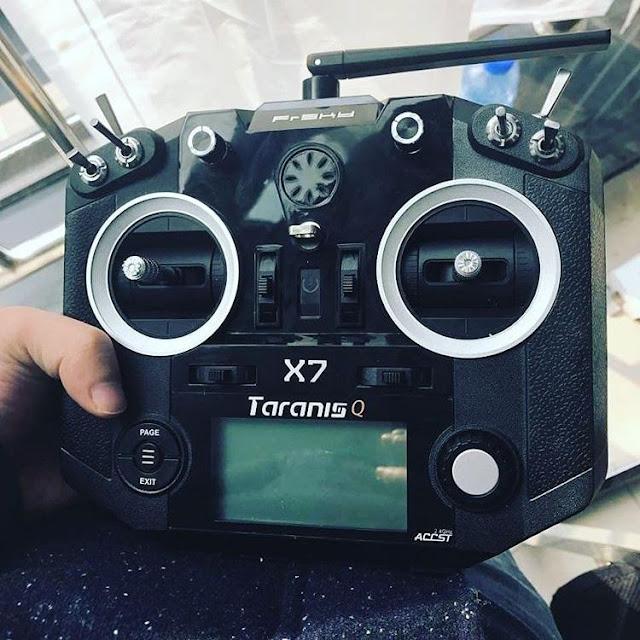 Frysky Taranis Radio Transmitter Black