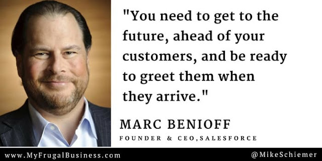 marc benioff quotes salesforce quote