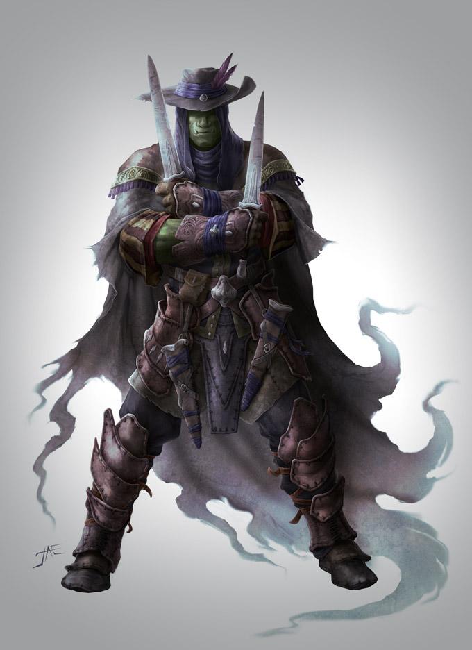 Pathfinder Hobgoblin Monk Tales of the Grotesque...