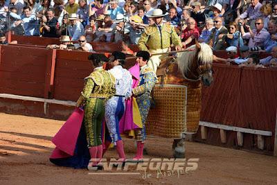 Toros Aranjuez Morante El Juli