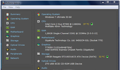 Cara Paling Gampang Mengecek Spesifikasi Komputer & Laptop Terlengkap di Berga Theme 2