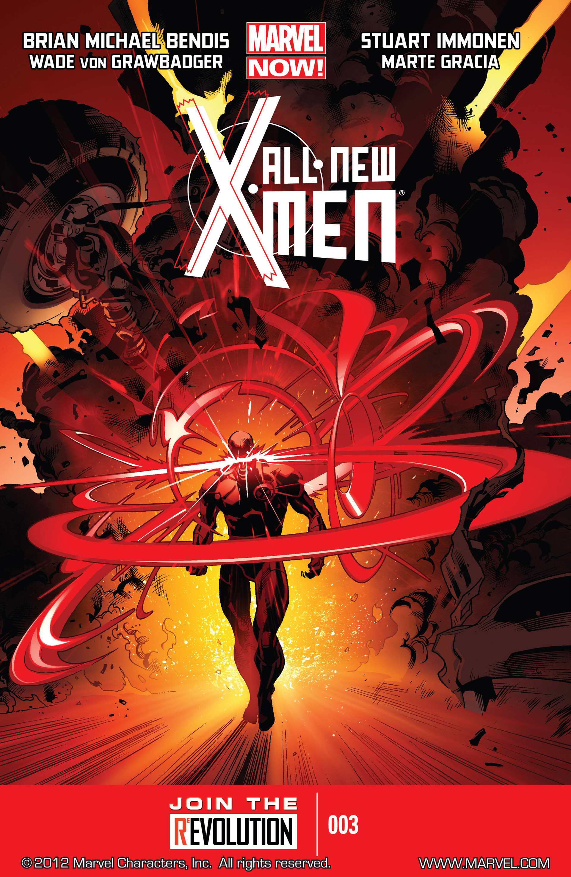 Read online All-New X-Men (2013) comic -  Issue #3 - 1
