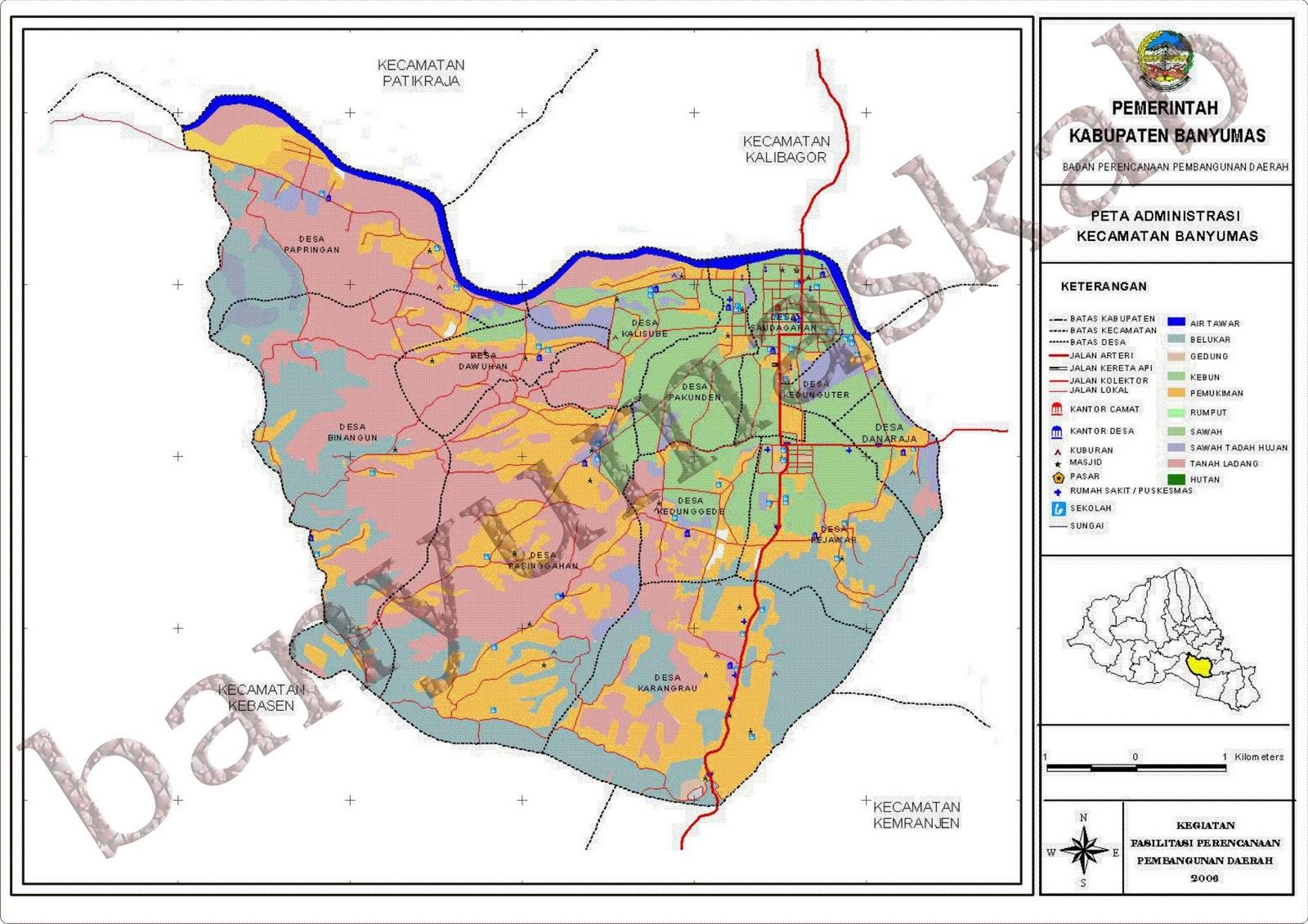 KotaKita.com: Peta Kota Banyumas