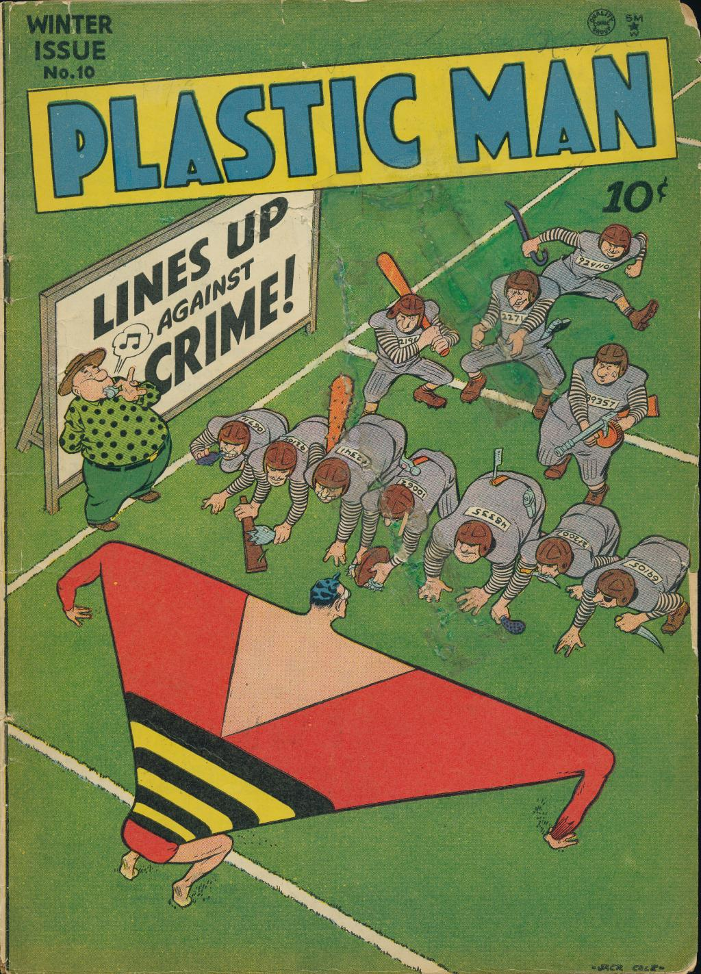 Plastic Man (1943) 10 Page 1