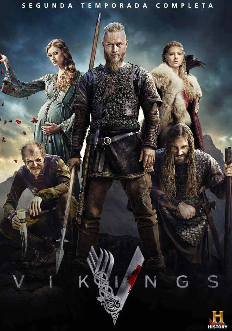 Vikings 2ª Temporada Torrent - BluRay 720p e 1080p Dual Áudio (2014)