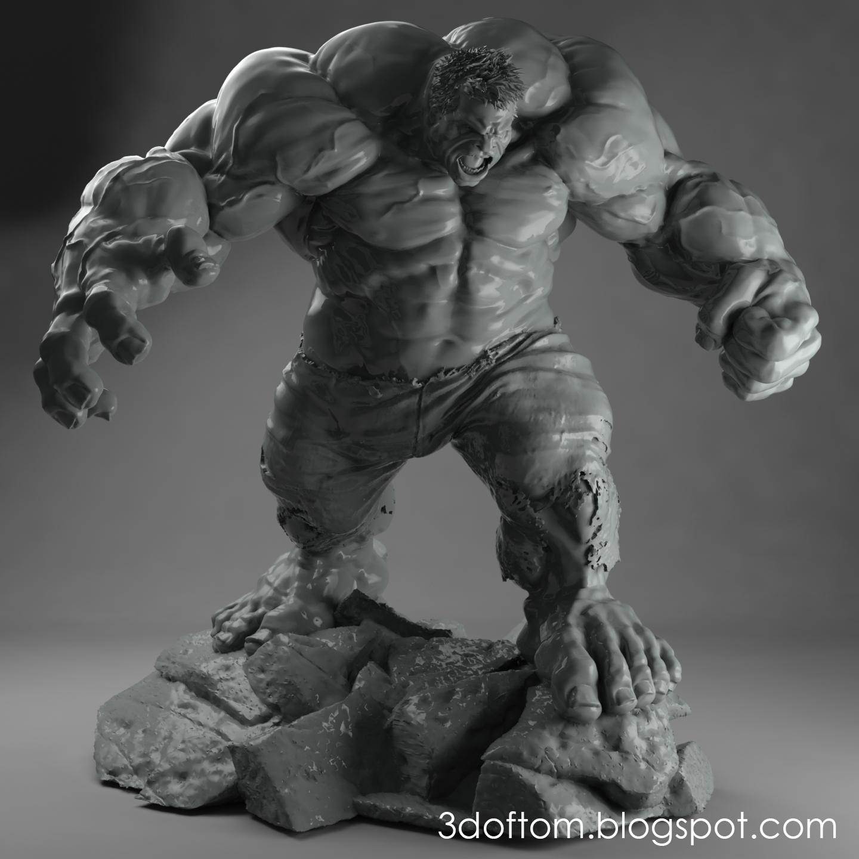 3D Printed Hulk
