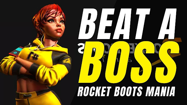 #NowPlaying ROCKET BOOTS MANIA Badly! Beat A BOSS! WOW!