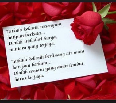 Kumpulan Puisi Tentang Cinta Paling Romantis Sedih Kata Kata Bijak