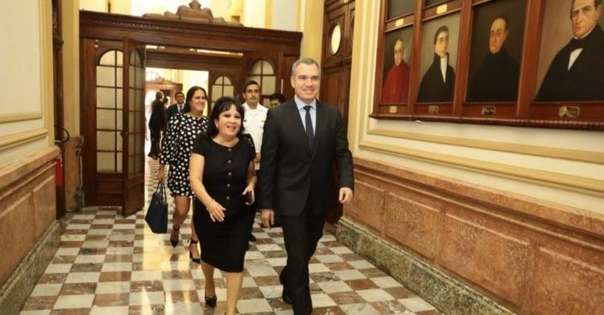 Jefe del Gabinete Ministerial, Salvador del Solar, solicitará hoy el voto de confianza ante el pleno del Congreso