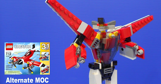 Creator 31047 Alternate MOC / Robot Mode with instructions!