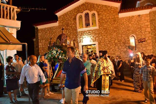 Αφρικανός Επίσκοπος στους εορτασμούς της Αγίας Μαρίνας στο Νέο Ροείνο Αργολίδας (βίντεο)
