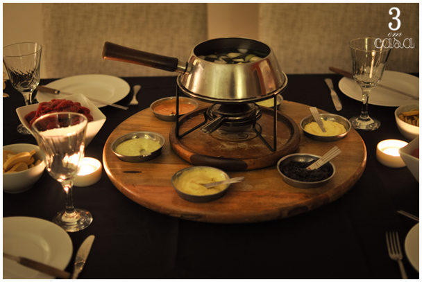 molhos fondue