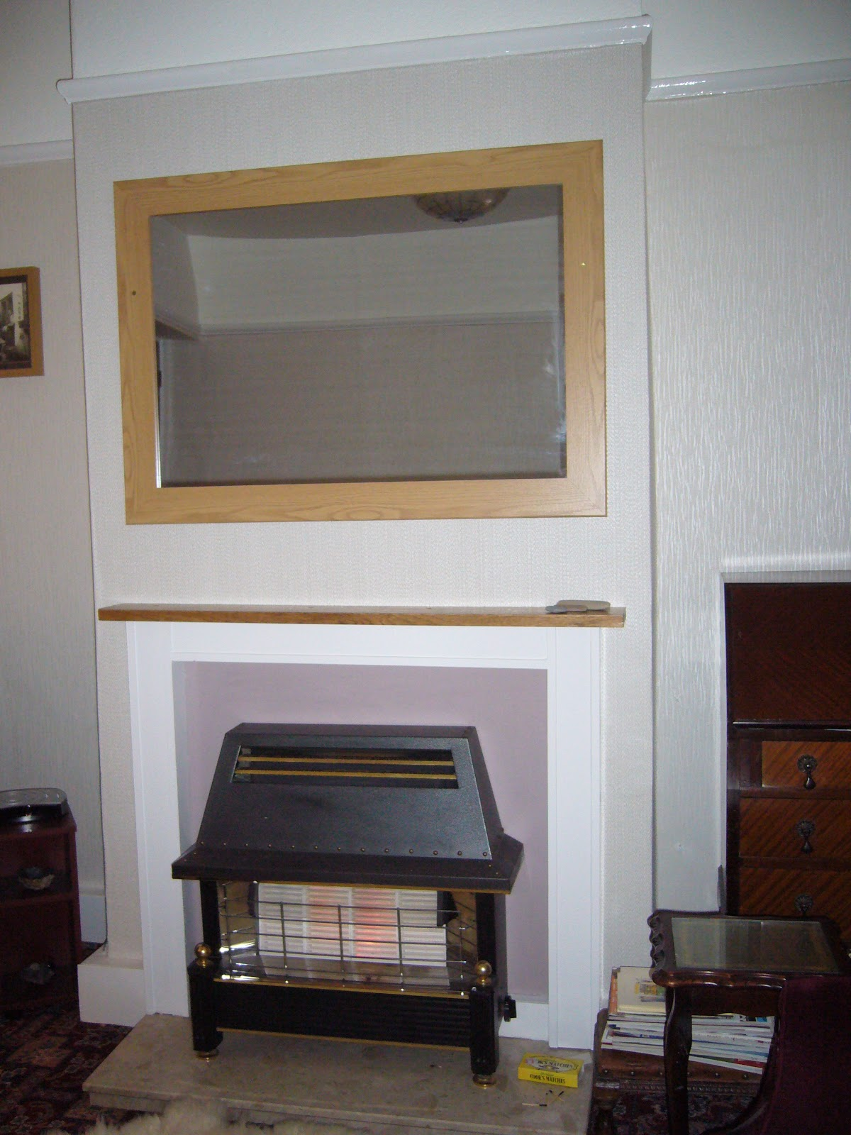 How To Wallpaper A Chimney Breast How To Wallpaper A Chimney Breast