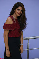 Pavani Gangireddy in Cute Black Skirt Maroon Top at 9 Movie Teaser Launch 5th May 2017  Exclusive 008.JPG