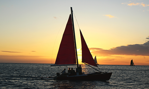 hawaii sailing