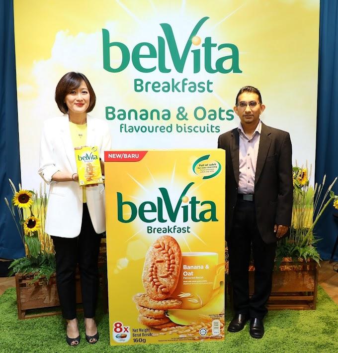 Perisa Baru Biskut Belvita Breakfast Pisang & Oat