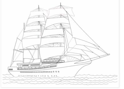 Belajar Mewarnai Gambar Untuk Anak Anak Kapal Learning To Supply