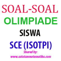 Soal dan Kunci Olimpiade Siswa SCE (IOSTPI)