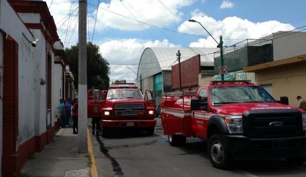 Fuego en Toluca