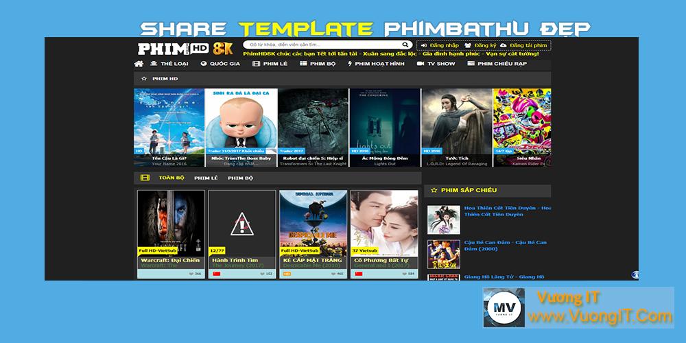 Share Template Phim Giống PhimBatHu Cho Các Bạn Làm Phim