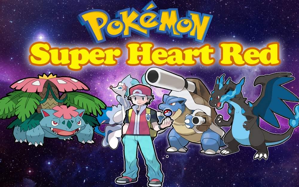 Pokémon Super Heart Red [Att 01/07/2018] ~ Pokemon Saves