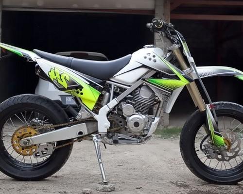 Gambar Modifikasi Klx 150 Supermoto Motor Kawasaki Auto Electrical