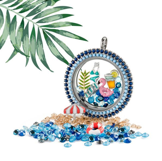 Moroccan Twist Living Locket by Origami Owl available at StoriedCharms.com