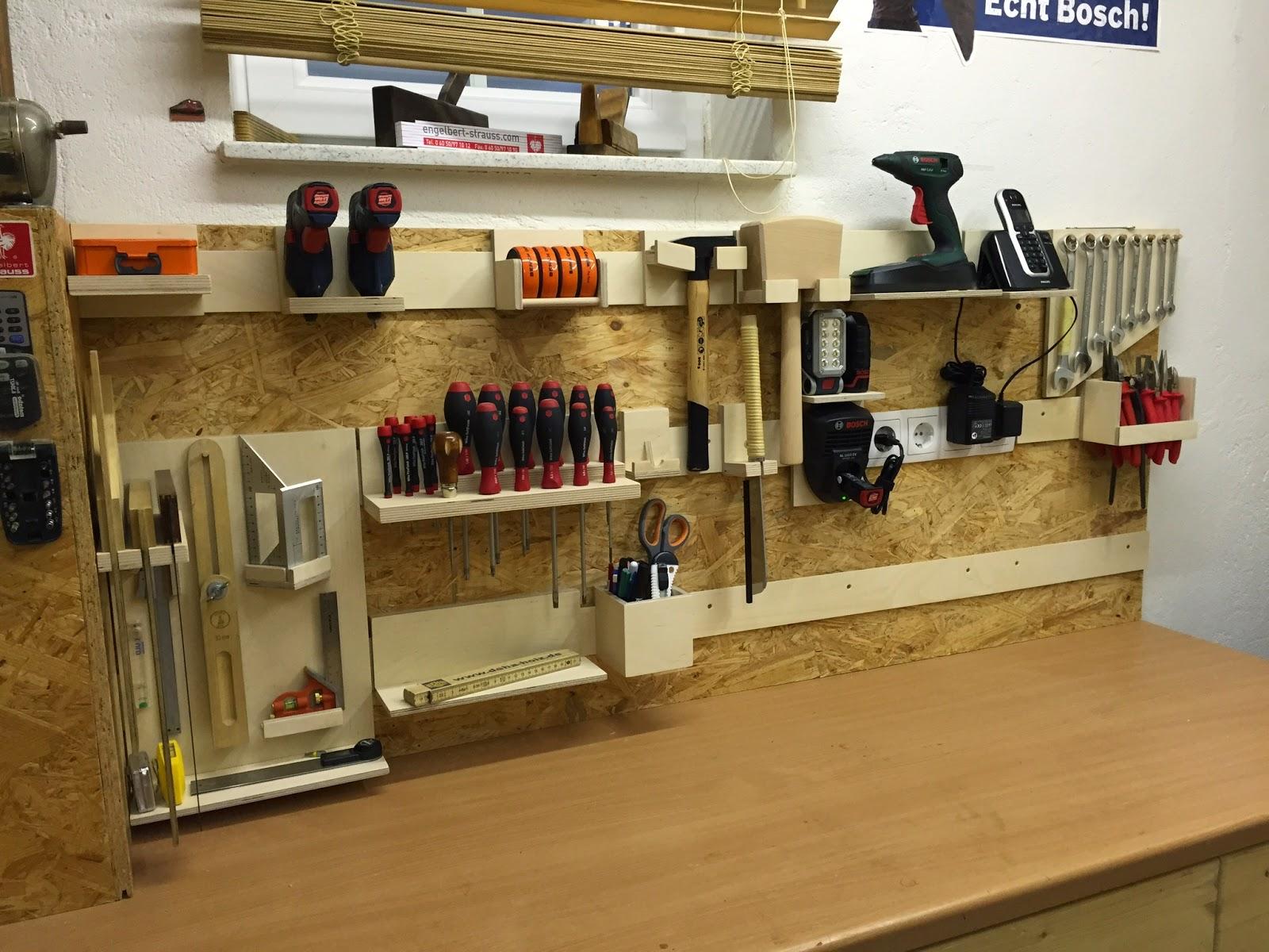 Werkzeugwand Holz Heimwerkerhelden Hash Tags Deskgram