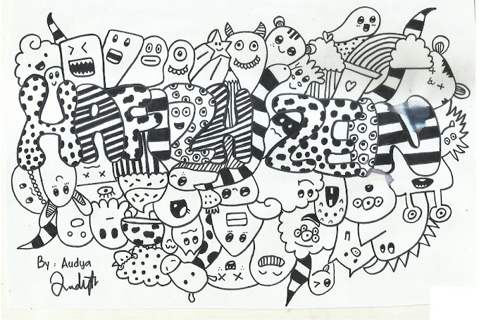 Pengertian Tentang Doodle Art dan Contohnya