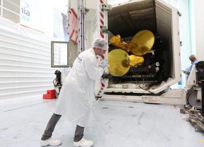 Ο δορυφόρος HELLAS SAT 3/IS μεταφέρεται στο σημείο εκτόξευσης στη Γαλλική Γουιάνα