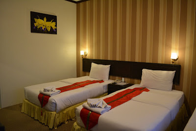Twin room of Golden dragon resort
