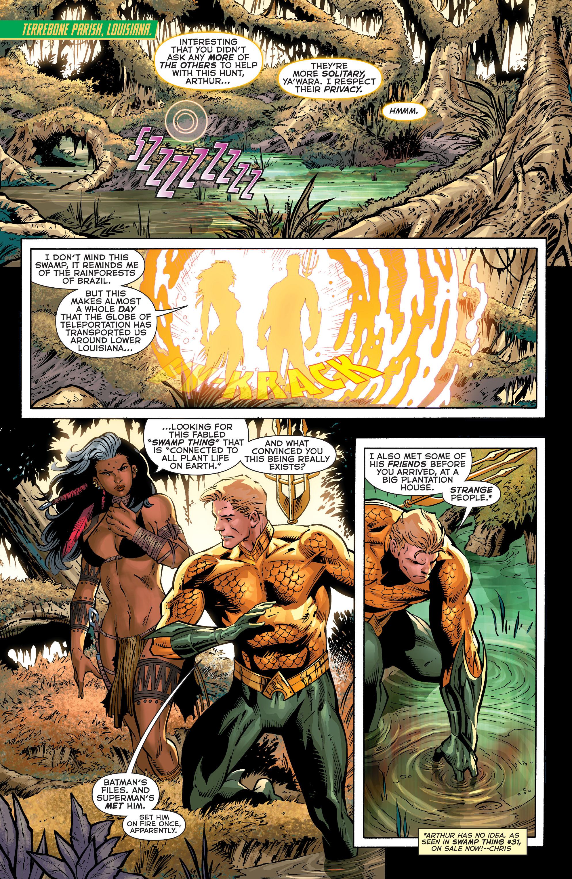Read online Aquaman (2011) comic -  Issue #31 - 2