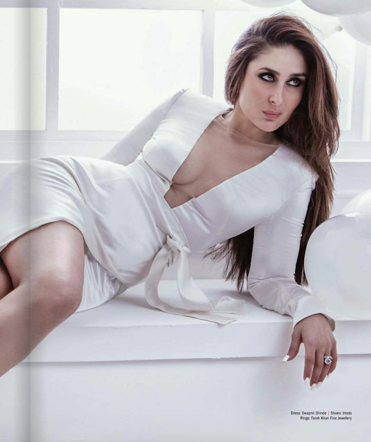 Hot Mummy Kareena Kapoor Slays on The Filmfare Sep 2017 Cover