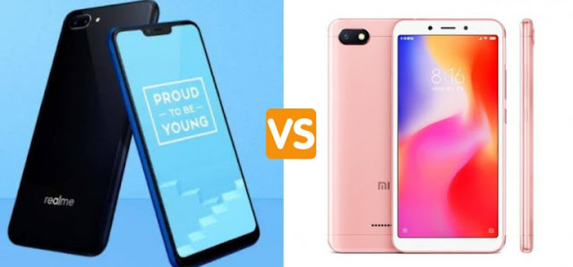 Xiaomi redmi 6a vs realme c1 comparison