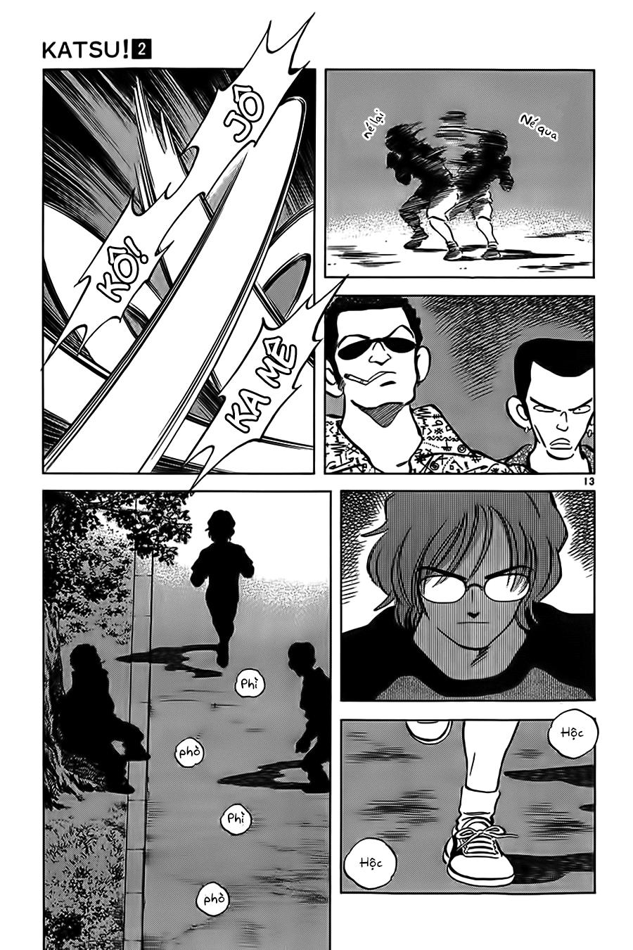 Katsu! chương 011: a, nhớ rồi! trang 15