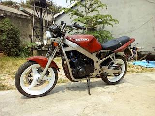 Jual Moge Suzuki 500cc twin Lawas
