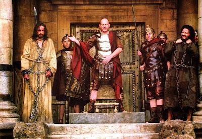 Resultado de imagen para Jesús y Pilato