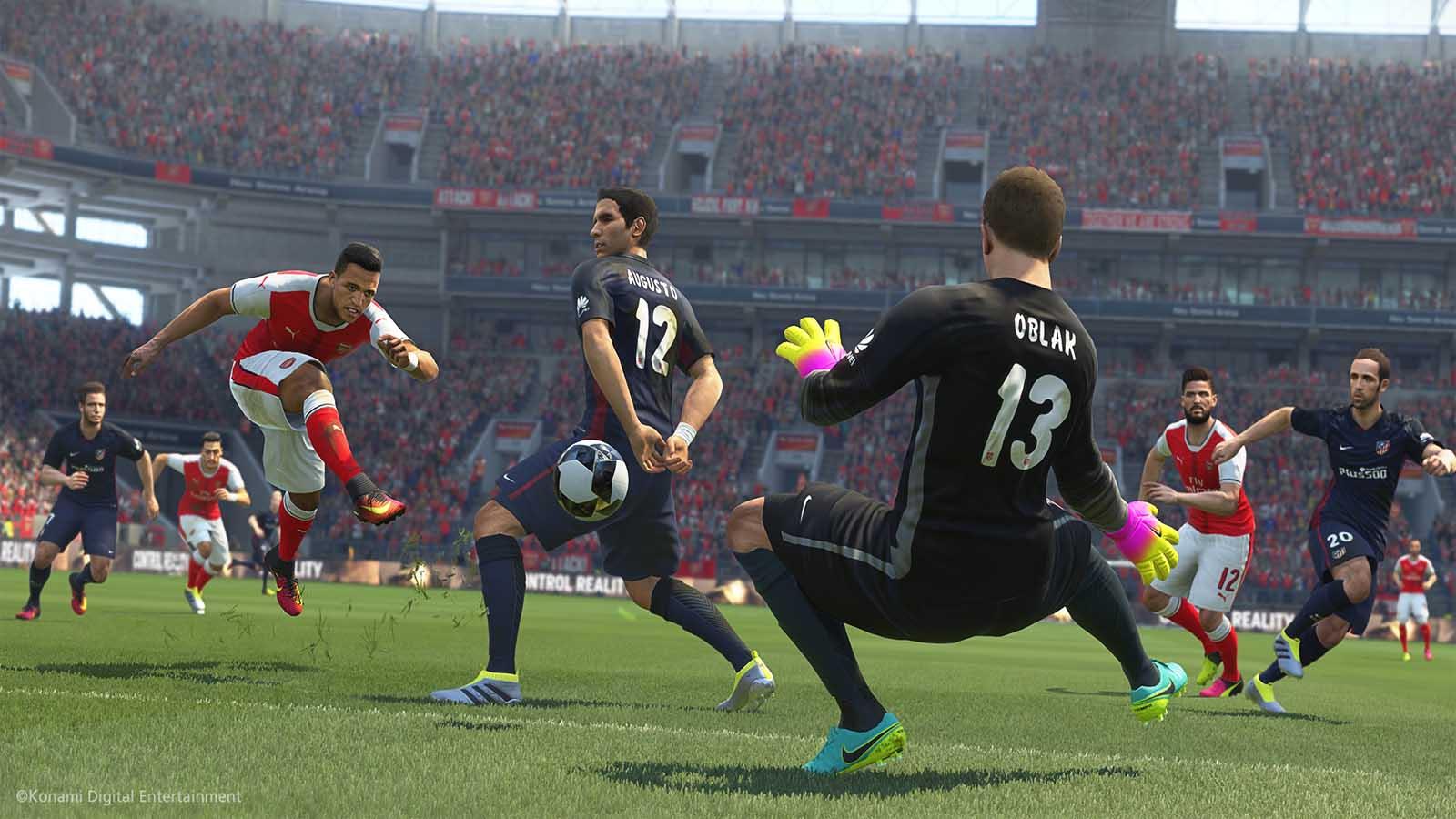 تحميل لعبة PES 2017 مضغوطة كاملة بروابط مباشرة مجانا