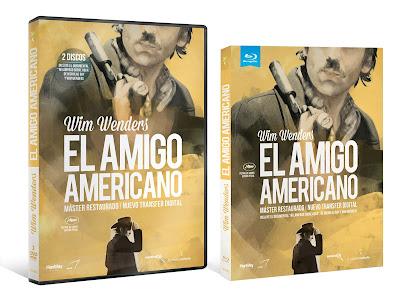 El amigo americano en BLU-RAY y DVD 2 DISCOS