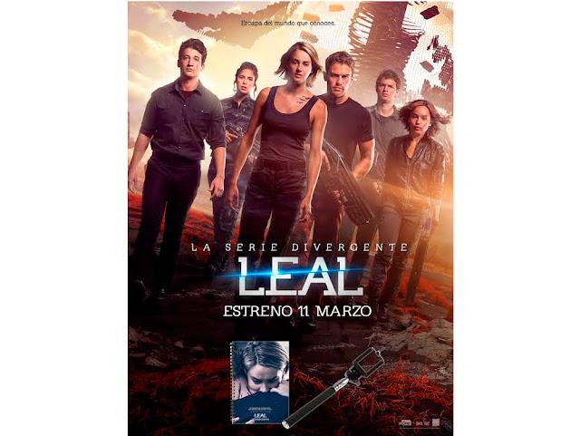 Concurso 'La serie Divergente: Leal': tenemos palos selfies y libretas para vosotros