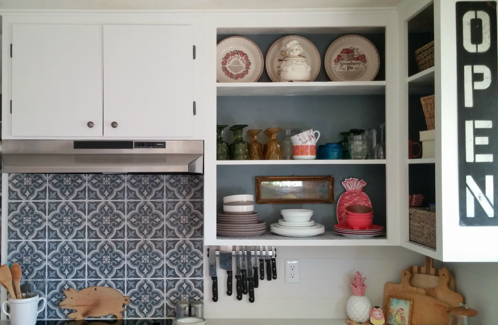 Updated 1960's Kitchen Reveal