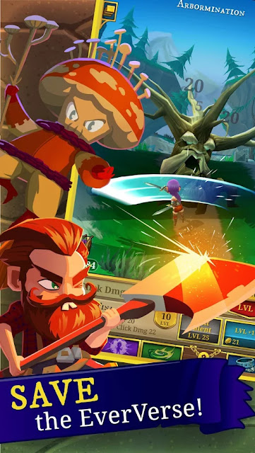 Everclicker - Endless RPG APK MOD Unlimited Money