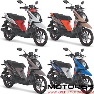 Pilihan Warna Yamaha X Ride