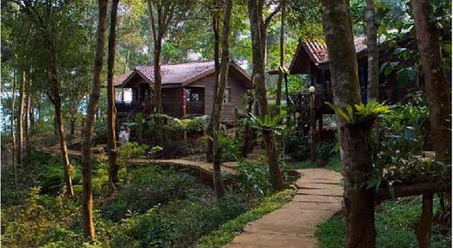 Tad Fane Resort in Pakse, Laos
