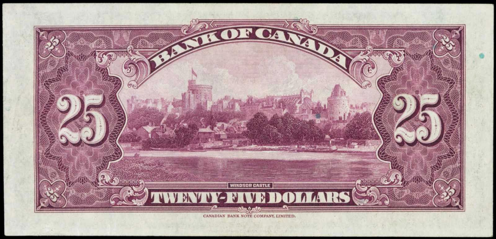 Bank of Canada 1935 Twenty-Five Dollar Bill